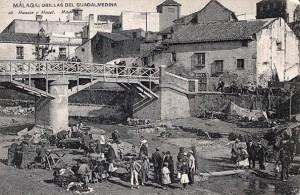 Imagen 1. Puente antiguo de Santo Domingo. Fuente: ALAs de Málaga.