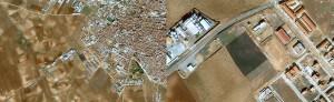 Figura 2. Situación dentro del T.M. de Almendralejo. Badajoz.