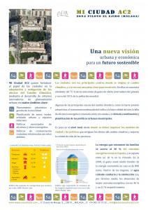Figura 2: Folleto divulgativo de la propuesta, resultado Proyecto Mi Ciudad AC2