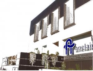 Simulación de fachada del edificio terminado