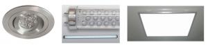 Figura 7: Ejemplo de luminarias LED