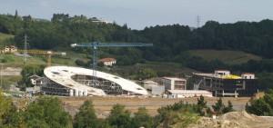 Figura 7. Avance de las obras a Septiembre de 2012.