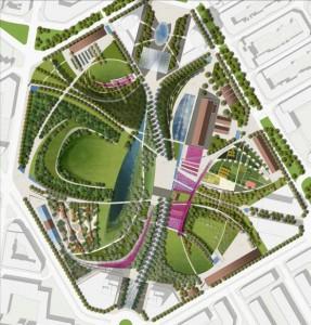 """Figura 4: Solución para """"Parque Central de Valencia"""""""
