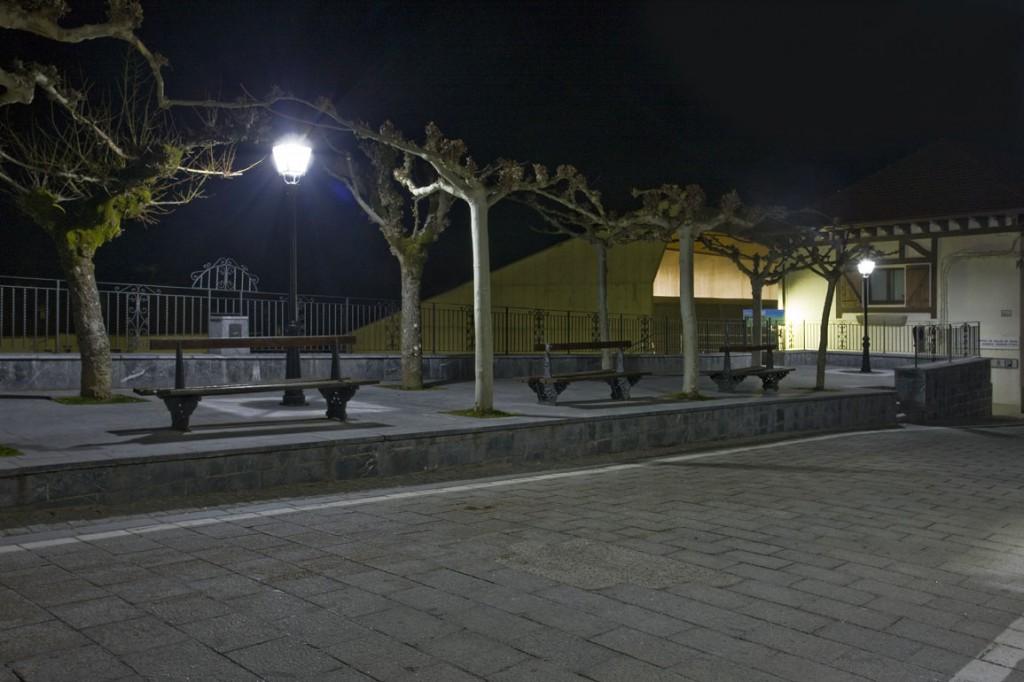 Fotografías de Isaba tras la instalación de la nueva iluminación