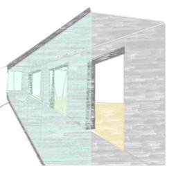 Figura 15: Calefacción de los espacios interiores mediante galerías acristaladas