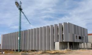 Figura 5. Estado del edificio en obras en septiembre de 2012.