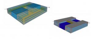Modelización de las opciones (edificio con o sin atrios) con LIDER.