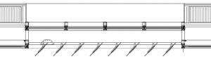 Figura 32.Sección huecos fachada suroeste