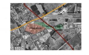 Figura 1: Situación Parque Alcosa. Trabajo LAE 2012 Bloque de viviendas del Parque Alcosa.