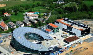 Imagen 1: Vista aérea de las obras de Orona IDeO – innovation city.