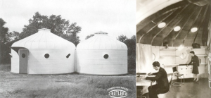 Fig. 2. R. Buckminster Fuller, propaganda de la Dymaxion Development Unit (DDUs), 1940.