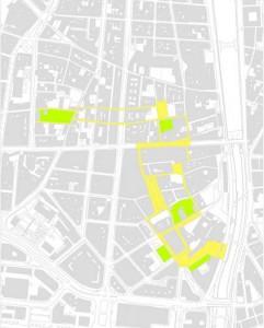Red de Nuevas Zonas Verdes Propuestas.