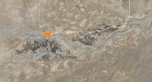 Figura 2: Oasis de M'hamid