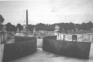 Fig. 4 Richard Serra. Clara-Clara. París, 1983