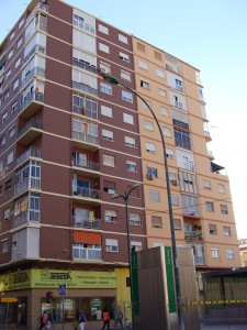 Figura 4: Vista desde la calle Héroes de Sostoa. Fotografía del autor