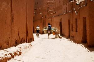 Figura 5: Calle principal de M'hamid el Ghezlane