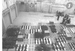 """Fig. 7 Patrizia di Monte e Ignacio Grávalos. Programa """"estonoesunsolar"""" 2009, Zaragoza."""