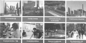 Fig. 8 Plan 22@BCN. Barcelona. Ejes de actuación 2001-2006.
