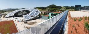 Imagen 9: Vista general desde la cubierta del edificio Fundación Orona.