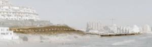 Figura 9: Paseo Marítimo en La Manga del Mar Menor. Tramo II. Ladera Monteblanco