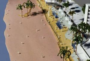 Figura 11: Paseo Marítimo Tramo III. Maqueta